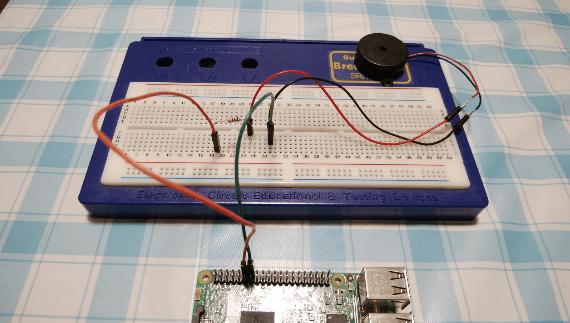 5.圧電ブザーの配線詳細図2